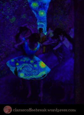 Starry Night Van Gogh Degas Tutu Clara's Coffee Break