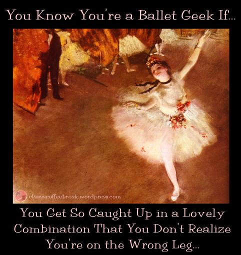 Ballet Geek Clara's Coffee Break 1