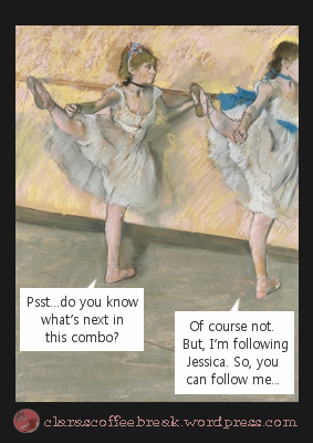 Do You Know the Combination Degas Clara's Coffee Break 7