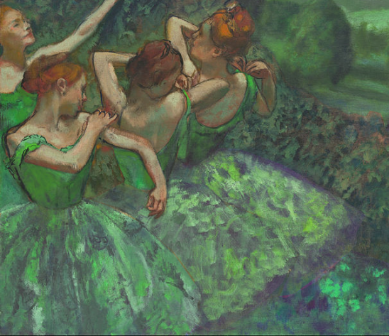 Emeralds Degas 1